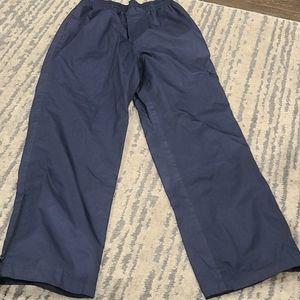 Athletic works lined wind breaker pants